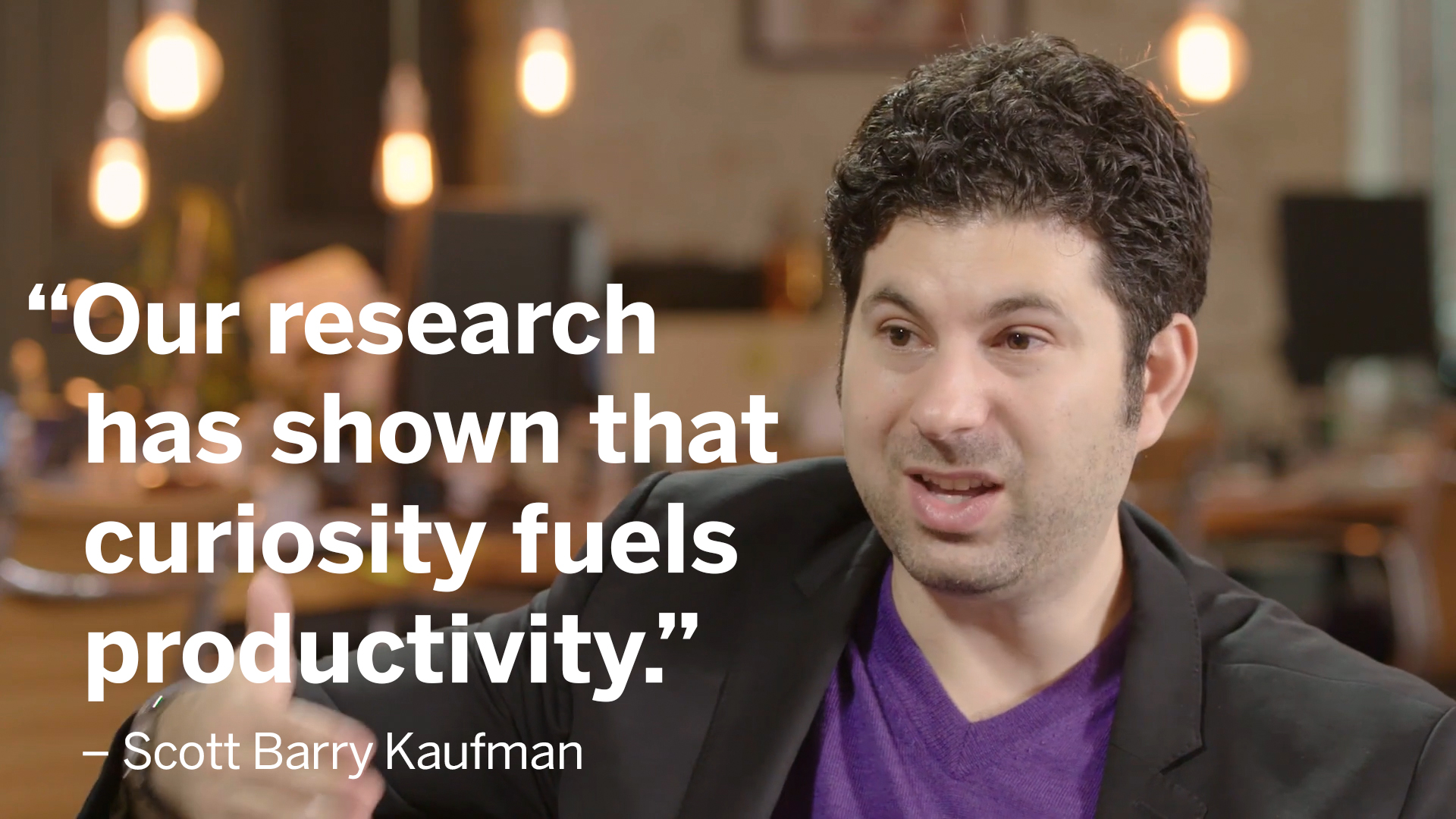 Scott Barry Kaufman, scientific director, Imagination Institute