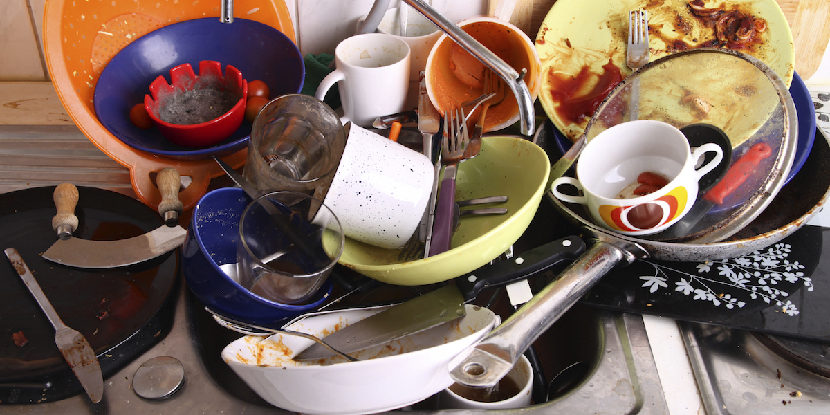 Why Doing The Dishes Feels Like It Takes Forever
