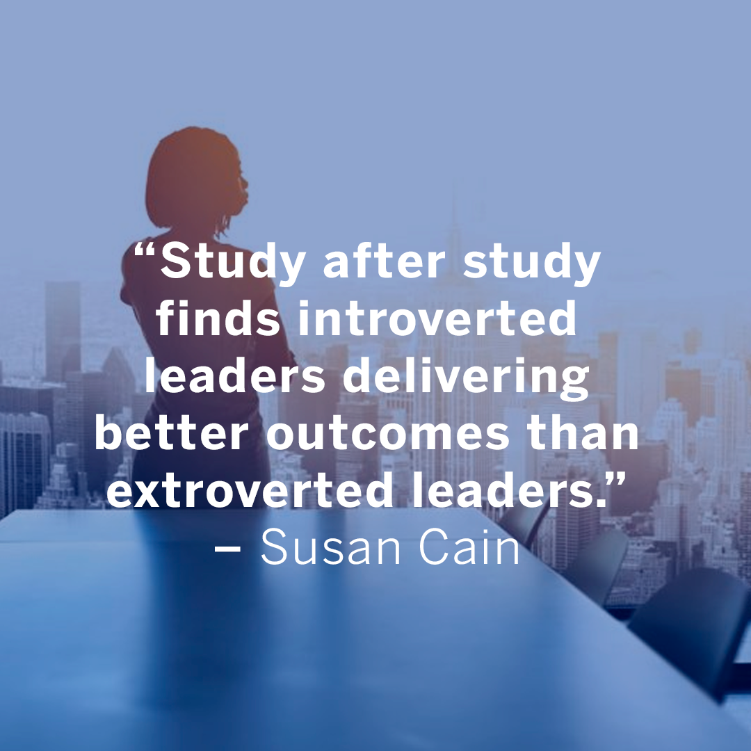 Why the World Needs More Introverts Susan Cain