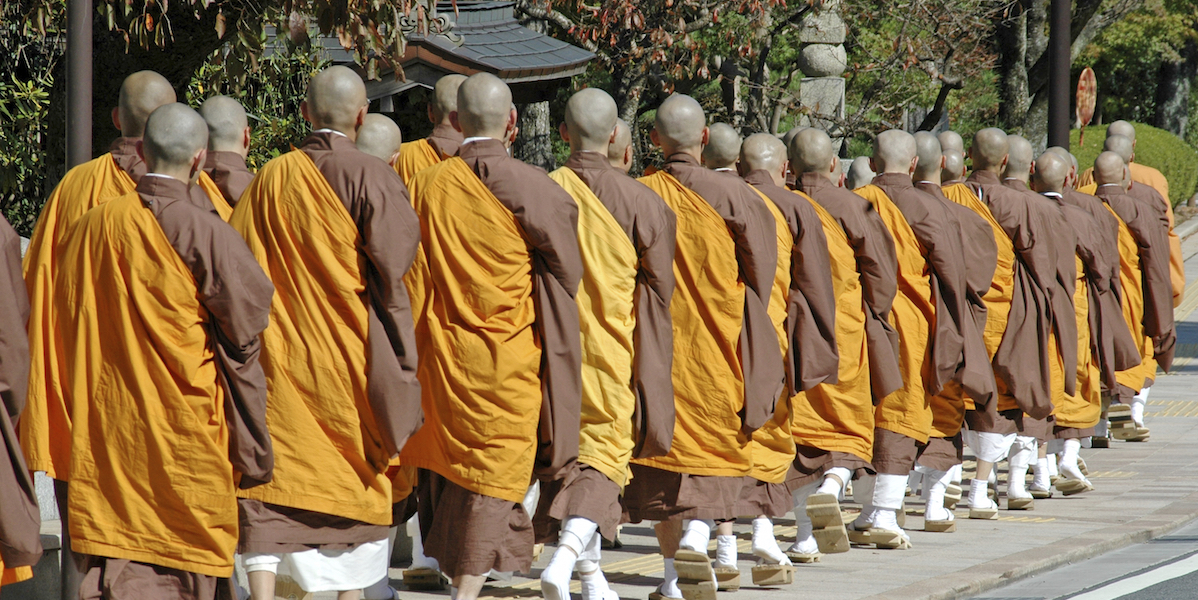 """What These """"Marathon Monks"""" Can Teach You About Commitment"""
