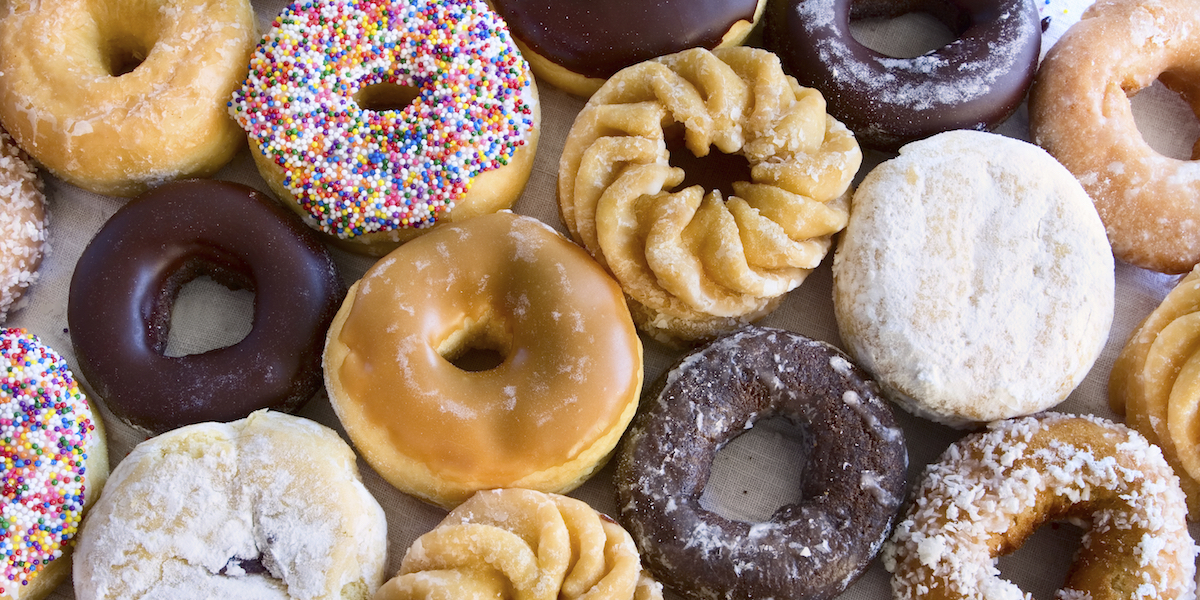 How to Eat Just Half a Donut