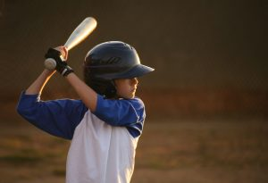 Youth League Baseball Hitter