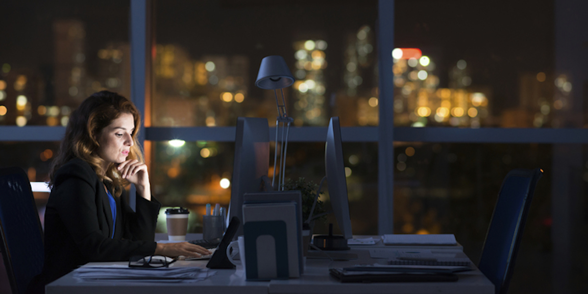 A Parent's Guilt-free Guide to Working Late Nights