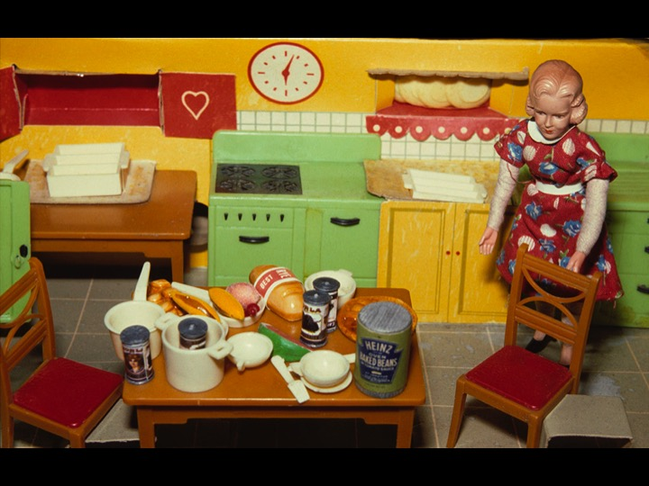 Blonde/ Red Dress/ Kitchen, 1978 (courtesy of the artist and Salon 94)