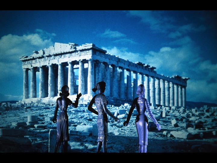 Tourism: Parthenon, 1984 (courtesy of the artist and Salon 94)