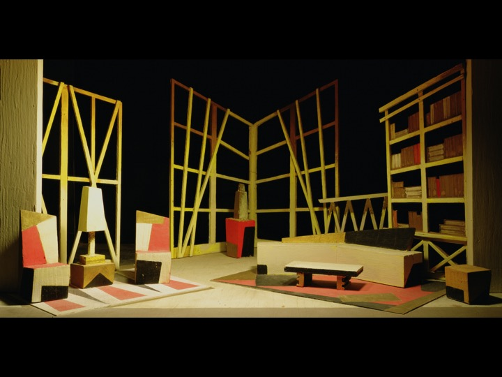 The Boxes (Ardis Vinklers) Library/ Empty, 2005 (courtesy of the artist and Salon 94)