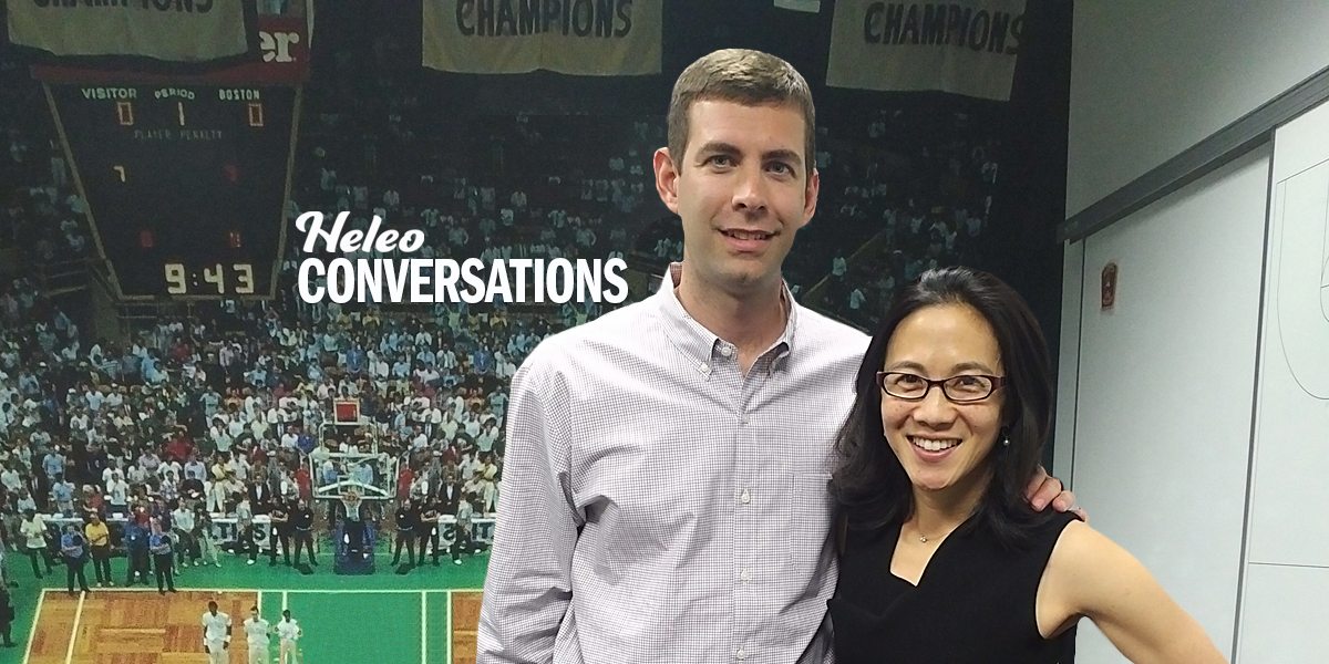 Talking Teamwork With Celtics Coach Brad Stevens and Angela Duckworth