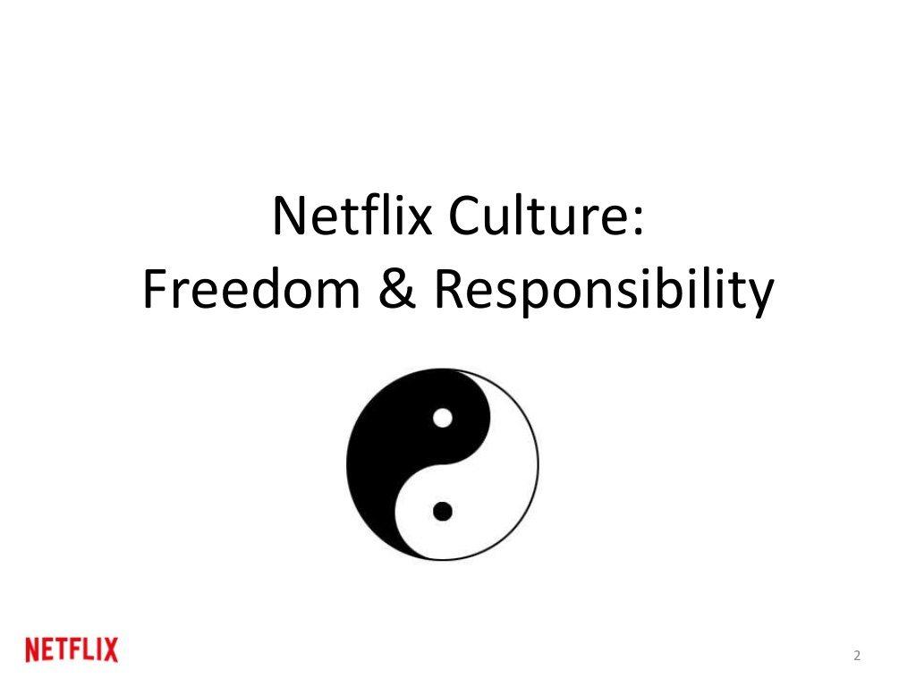 Netflix's Original Culture Deck