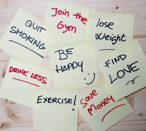 New year Resolutions Note