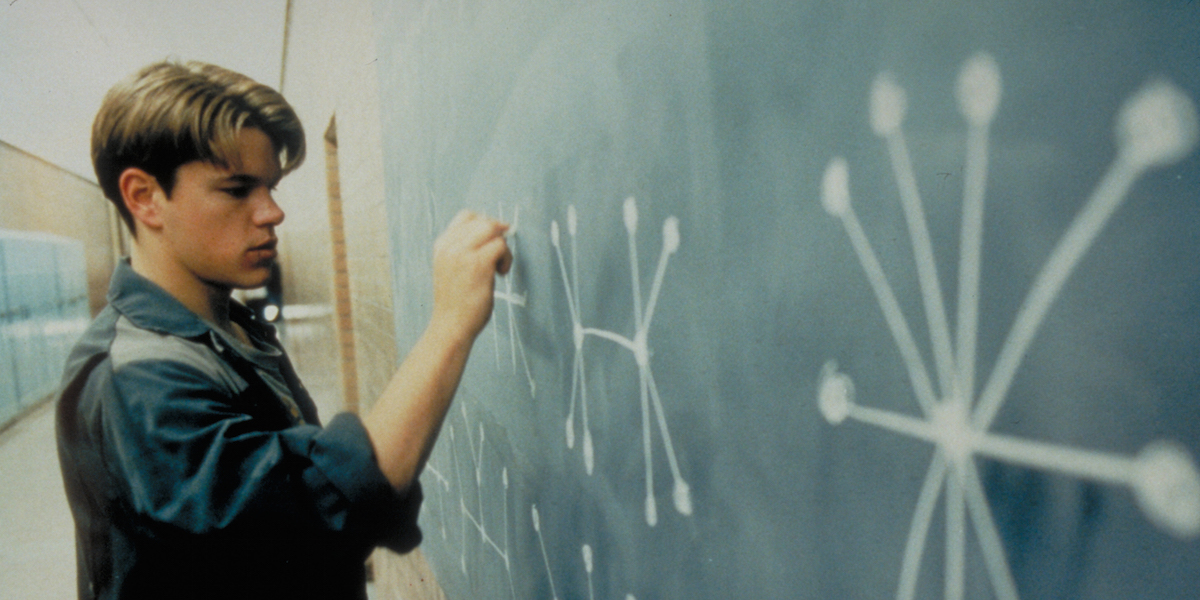 How to Be a Math Genius, According to the (Real) Mathematician in Good Will Hunting
