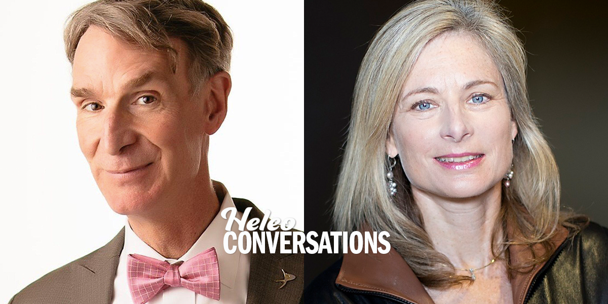Where Did We Come From? A Cosmic Conversation with Bill Nye and Lisa Randall