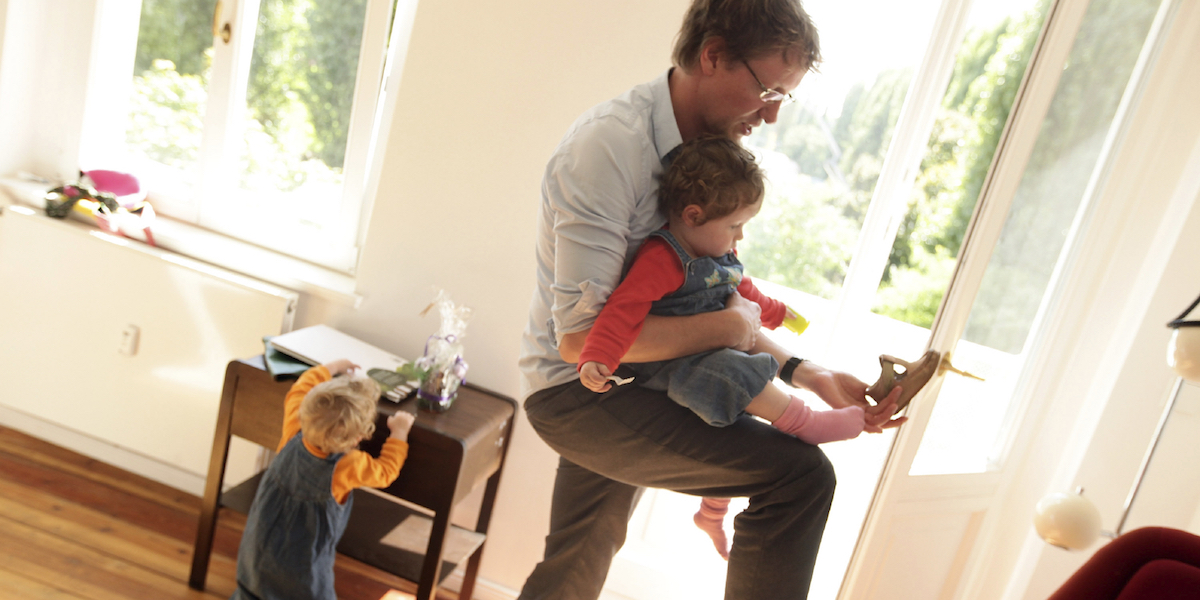 The Working Dad's Survival Guide