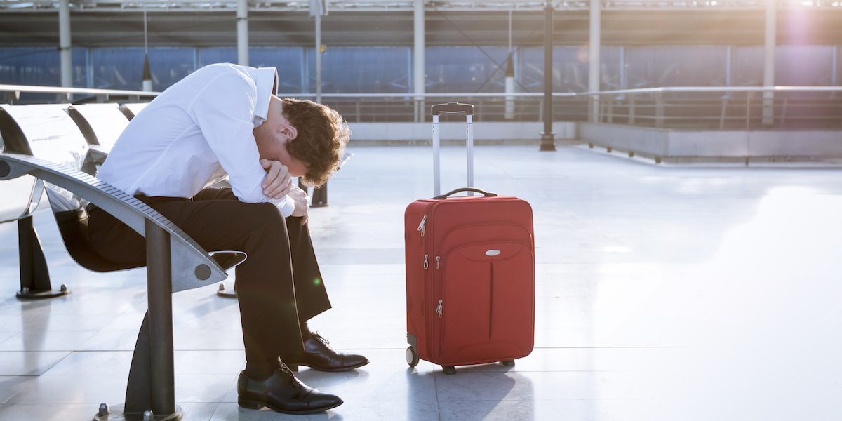 What Getting Lost at the Airport Taught Me about Challenging Myself