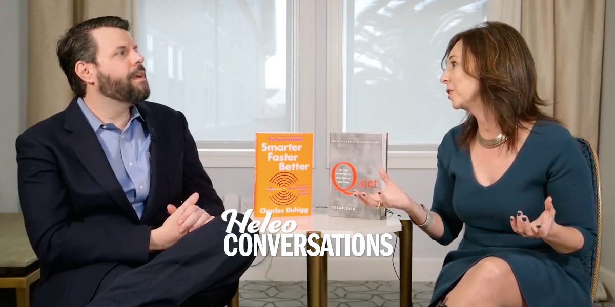Charles Duhigg and Susan Cain Discuss Productivity for Introverts