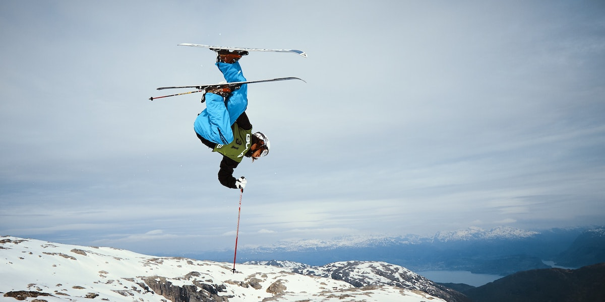 How an Extreme Skier Learned to Make Peace With Fear