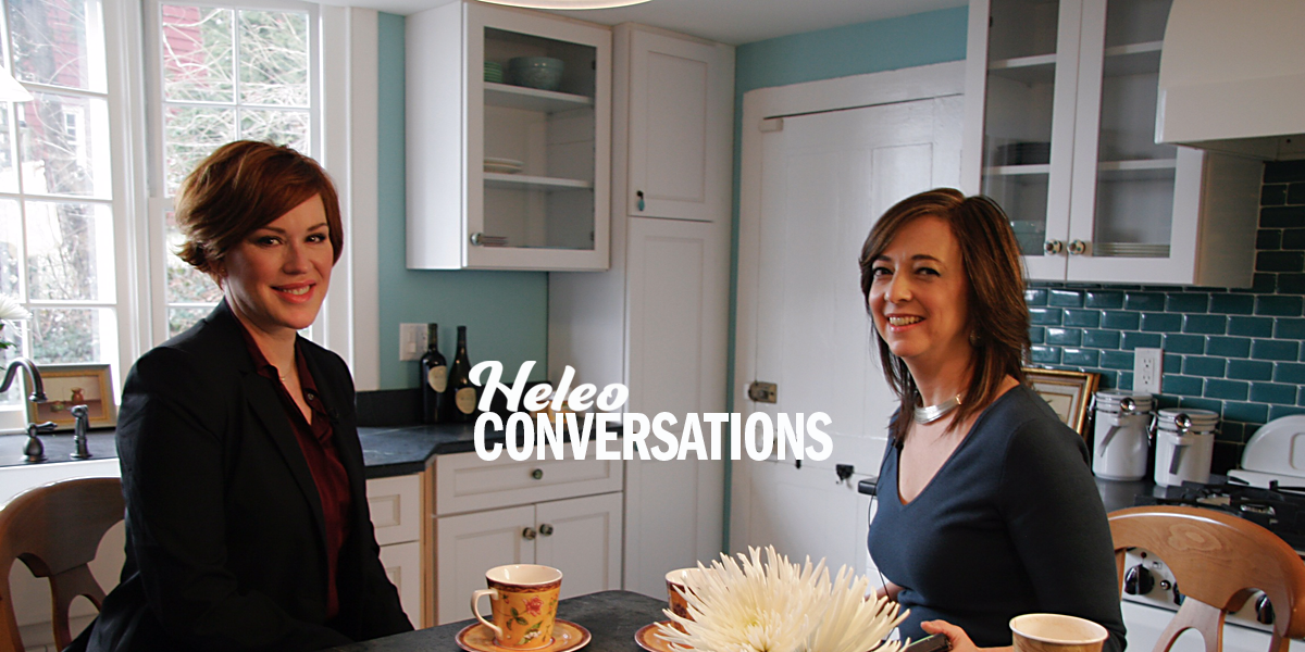 A Conversation with Molly Ringwald about Introversion on Set and at Home